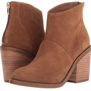 Steve Madden Brown Suede Ankle Boots